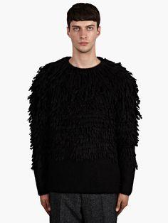 maison m margiela alpaca shearling sweater -900pounds ugh