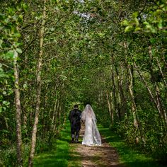 The path running between the lakes and the river is a perfect spot for photos of the newlyweds. Unique Wedding Venues, Wedding Photos, North Yorkshire, Woodland Wedding, Newlyweds, Lakes, Big Day, Countryside, River