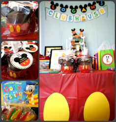 Mickey Mouse Clubhouse Birthday Party!