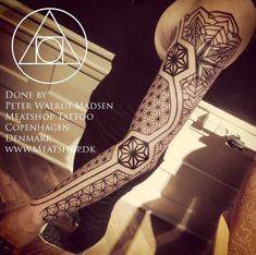 patterns tattoo - 40 Intricate Geometric Tattoo Ideas | Art and Design