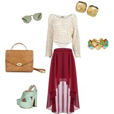Polyvore. the skirt