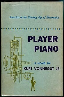 First edition of Player Piano by Kurt Vonnegut, 1952.