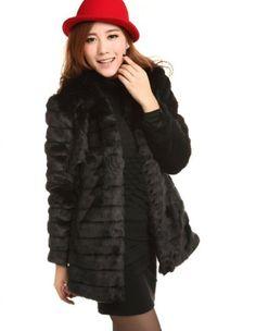 WIIPU women's faux fur slim outerwea... for only $99.99  #WIIPU
