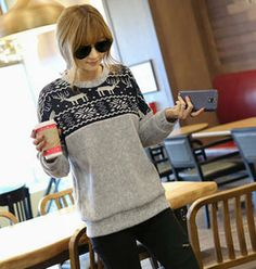Nordic Pattern Sweater from #YesStyle <3 REDOPIN YesStyle.com
