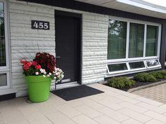Jardinière avant au 5 août 2014 2013, Hui, Garage Doors, Outdoor Decor, Home Decor, Front Gardens, Fall, Accessories, Homemade Home Decor