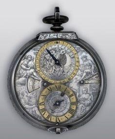 Montre astronomique signée Jean Le Senne à Paris, vers 1650.