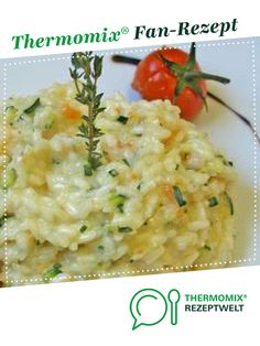 Gemüse-Risotto - New Site Rissoto Thermomix, Kitchen Queen, Thanksgiving Recipes, Bagel, Sushi, Low Carb, Vegan, Baking, Ethnic Recipes
