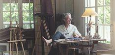 Der Literatur-Nobelpreisträger Peter Handke – ganz privat. Peter Handke, Furniture, Home Decor, Writers, Literature, World, Decoration Home, Room Decor, Home Furnishings