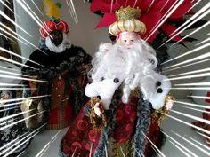 """Dy""Tutorial Caras Para Reyes Magos,Santa Claus,Nognos ,muñecos - YouTube Reyes, Wreaths, Halloween, Youtube, Home Decor, Santa Face, Silicone Molds, Wizards, Christmas Ornaments"