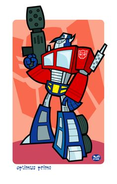 Optimus Prime by Montygog.deviantart.com on @deviantART