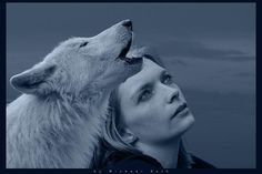 Women who run with wolves.  Name of a great book, and love the picture