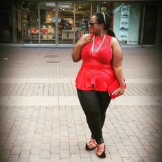 Casual red and African lugabile