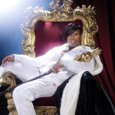 Missy Elliot- RAPPER, SINGER/SONGWRITER, AWARDS WINNER, RECORD PRODUCER, FOUNDER OF A RECORD LABEL NAMED THE GOLD MIND, INC.  SHE HAS A COMEBACK NEW ALBUM.  SHE DISAPPEARED FROM MUSIC FOR QUITE AWHILE DUE TO GRAVES DISEASE.  SHE ALSO IS A PHILANTHROPIST.  SHE NOT ONLY GETS BUT GIVES BACK.  THIS MAJOR BOSS IS DEFINITELY SUPA DUPA FLY!!!