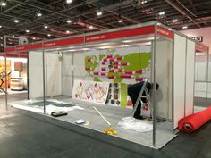 Just started setting up for this years London Marathon Expo 2015!!! Remember to come and visit our stand once it is all set up :)