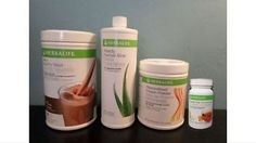 Meal Replacement Drinks: Herbalife Shake, Tea, Aloe,And Protein BUY IT NOW ONLY: $90.0