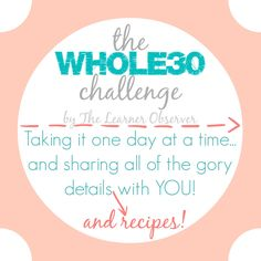 The Whole30 challeng