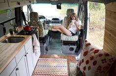 Sprinter Conversion — The Wandering Woods Sprinter Van Conversion, Camper Van Conversion Diy, Van People, Vw Camping, Camping Survival, Converted Vans, Vanz, Van Home, Bus Life