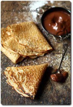 Gluten-free pancakes / Naleśniki bezglutenowe Olga Smile