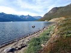 The shores of Tasermiut Fjord in Southern Greenland can be scenic.