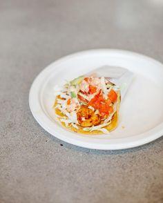 Taco de Camarón con todo  Have you tried our shrimp taco lately?  #LetsTaco #TheTacoStand #SanDiego #Tacos