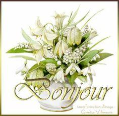 A l'occasion du 1er #mai je vous #offre mon #pot de #muguet #virtuel avec beaucoup de #plaisir.