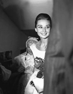 September 2, 1959: Audrey Hepburn arrives at the premiere of her new movie The Nun's Story at the Zurich Cinema in Switzerland.