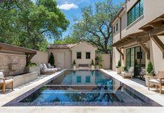 Private Residence - Dallas Modern Mediterranean - mediterranean - pool - dallas - Harold Leidner Landscape Architects