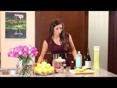 Be Tini Lemon Drop Punch Instructional Video #BYOBeTini #cocktails #recipe #lowcalorie #yum #classy #redwine