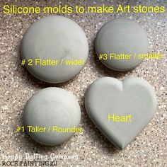 How to make rocks for painting - Rock Painting 101 Dot Art Painting, Rock Painting Designs, Stone Painting, Pebble Painting, Mandala Painting, Rock Crafts, Crafts To Sell, Arts And Crafts, Vbs Crafts