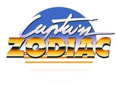 80s Logo Collection by Overglow - Retrofuturistic Artwork, via Behance