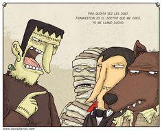 Alberto Montt. El verdadero nombre del monstruo de Frankenstein.