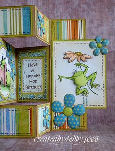 A Scrapjourney Tri Fold Card (Ive got to find some instructions!)