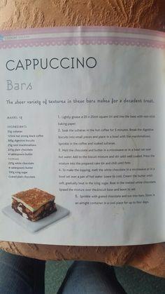 Cappuccino slice