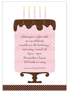 Frosted Wishes Party Invitation | Paper & Pearl