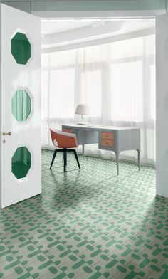 SEMILLAS MENTA A Contemporary Cement Tiles by Jaime Hayon