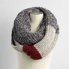 Chunky Cabin Infinity Scarf | Roots