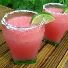 Margarita de sandía @ allrecipes.com.mx