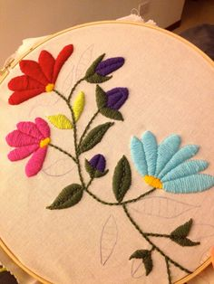 Awesome Most Popular Embroidery Patterns Ideas. Most Popular Embroidery Patterns Ideas. Mexican Embroidery, Types Of Embroidery, Hand Embroidery Stitches, Crewel Embroidery, Hand Embroidery Designs, Ribbon Embroidery, Cross Stitch Embroidery, Floral Embroidery, Brazilian Embroidery