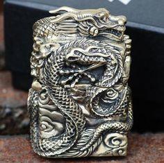 Rare 3D Dragon Zippo