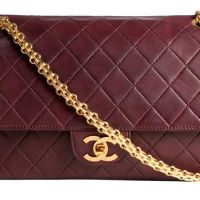 Chanel Burgundy Vintage 2.55 Flap Bag :)  Daisy makes  me think of the very small gap in your wardrobe. X