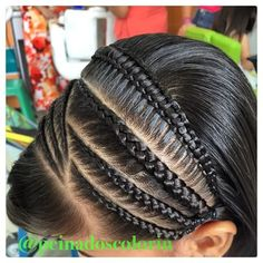 Hair Styles For Kids Curly 46 Ideas Girls Hairdos, Girls Braids, Little Girl Hairstyles, Pretty Braided Hairstyles, Cool Hairstyles, Hairstyle Ideas, Long Hair Designs, Curly Hair Styles, Natural Hair Styles