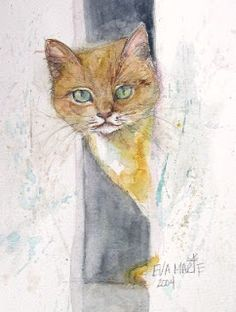 Barn Cat by Eva Marie Tanner-Klaas