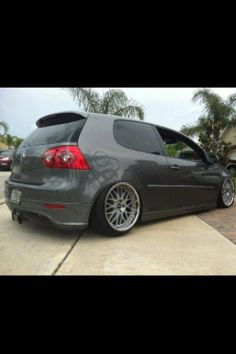 VW GTI... and exactly the color I want!! :)