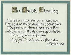 Irish Blessing - always make me think of home