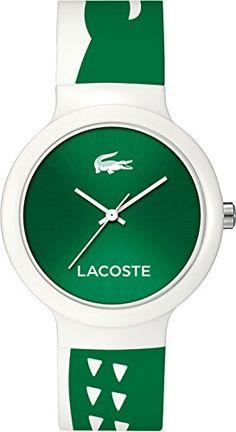 1fb61677e3c Lacoste Unisex Reloj de pulsera analógico cuarzo silicona 2020092  reloj   lacoste
