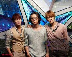 Junsu, Yoochun, Jaejoong