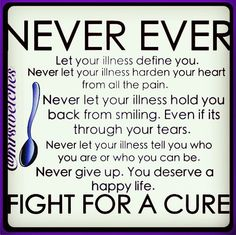 I have scleroderma but scleroderma doesnt have me   read my story at margiekugler.com support is lovely