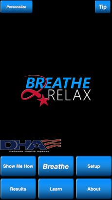Breathe2Relax is a portable stress management tool which provides detailed information on the effects of stress on the body and instructions and practice exercises to help users learn the stress management skill called diaphragmatic breathing.Breathing exercises have been documented to decrease the body's 'fight-or-flight' (stress) response, and help with mood stabilization, anger control, and anxiety management.