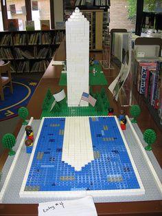 Lego Washington Monument