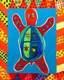 Artsonia Art Exhibit :: 4 - Australian Aboriginal Turtles